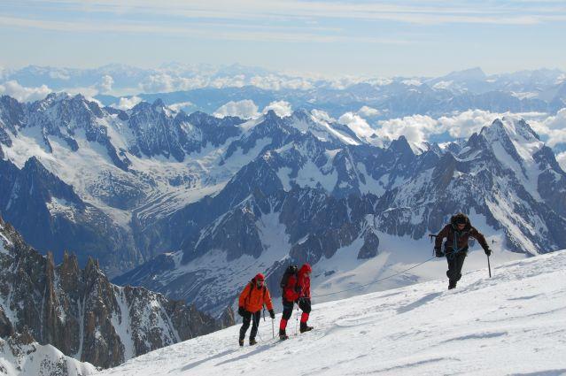 Voyage Ascension des Dômes de Miage (3673m)