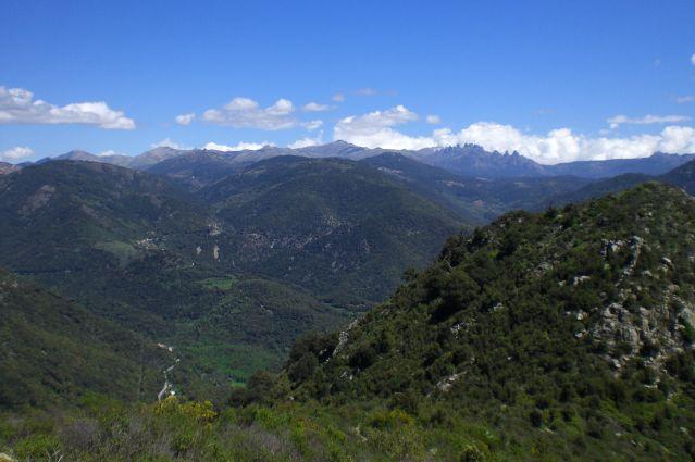 Vue depuis Foce d Alta - Corse