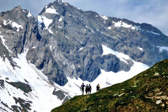 Trail autour du Mont Blanc - France