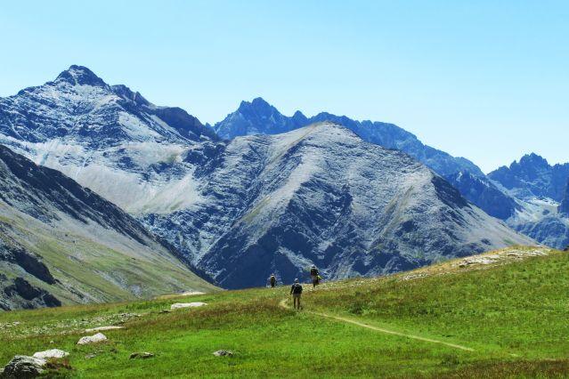 Randonnée dans la vallée de la Haute Ubaye - France