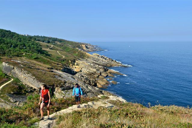 Randonnée sur le sentier litoral de Passaia - Espagne