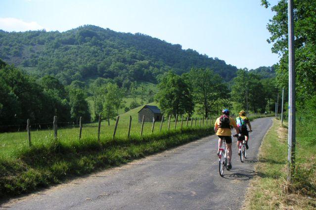 Balade à vélo sur les routes du Pays Basque - France