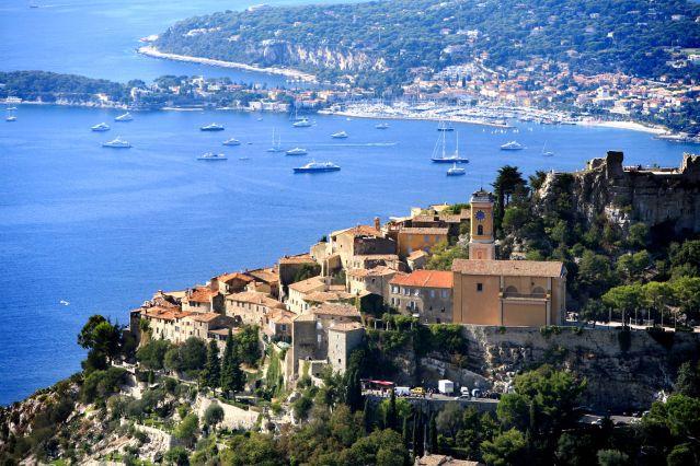 Voyage Nouvel an, les balcons de la côte d'Azur