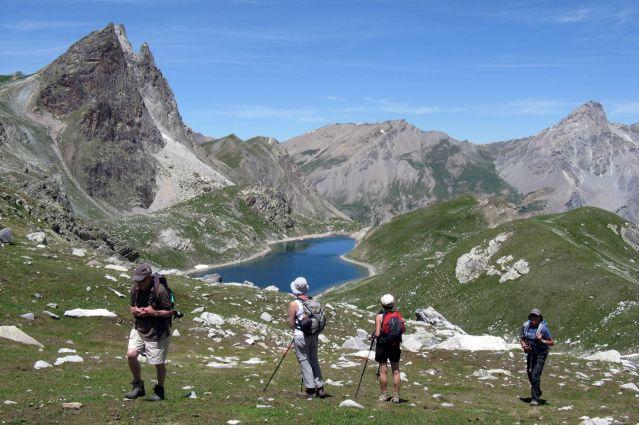 Les lacs et sommets de l Ubaye - Alpes du Sud - France