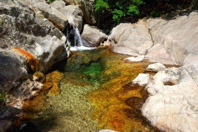 Dans les gorges de Colombières - France