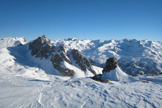 Sommet de la crête du Châtelard - Vallée de la Clarée - Alpes du Nord - France