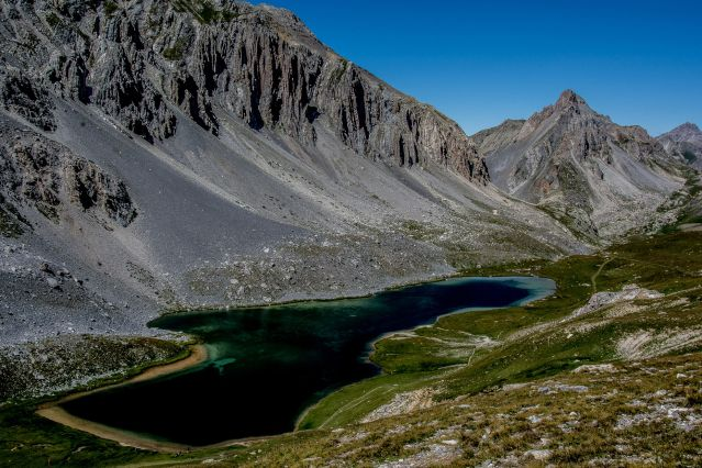 Lac de l Orrenaye - Ubaye - Alpes du Sud - France
