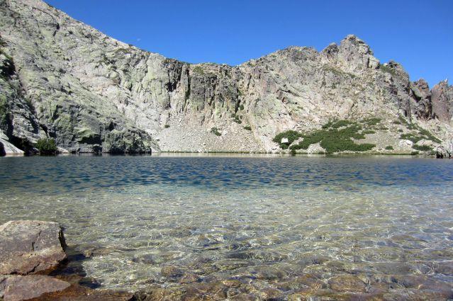 Lac de Cavacciole - 2015 m – Massif du Rotondo - GR20 Nord - Corse - France