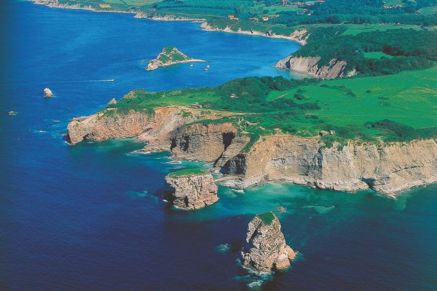 Paysage littoral - Hendaye - Pays basque - France