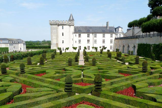 Jardins de Villandry - Loire - France