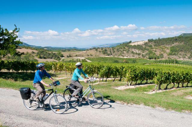 La Drôme provençale à vélo - France