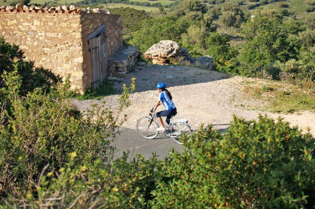 Vélo de Bastia à Ajaccio - Corse - France