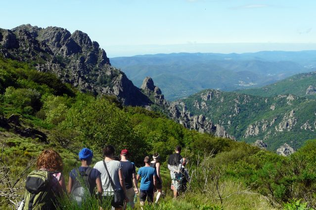 Le massif du Caroux - Parc naturel du Haut-Languedoc - France