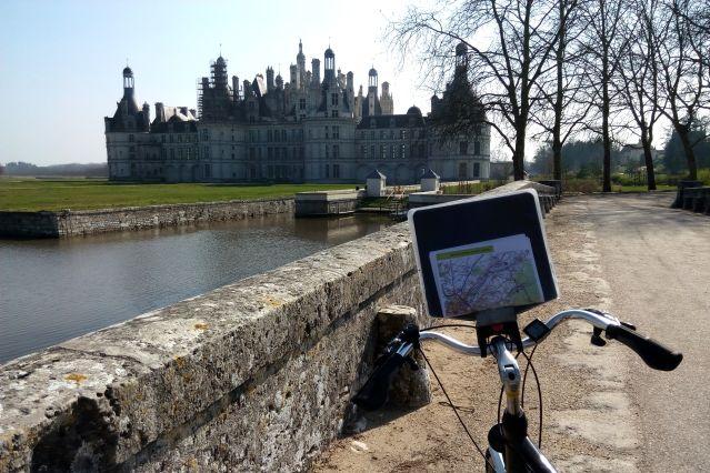 Voyage Escapade vélo au cœur des grands châteaux