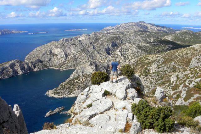 Vue sur la calanque de Morgiou - Provence - France