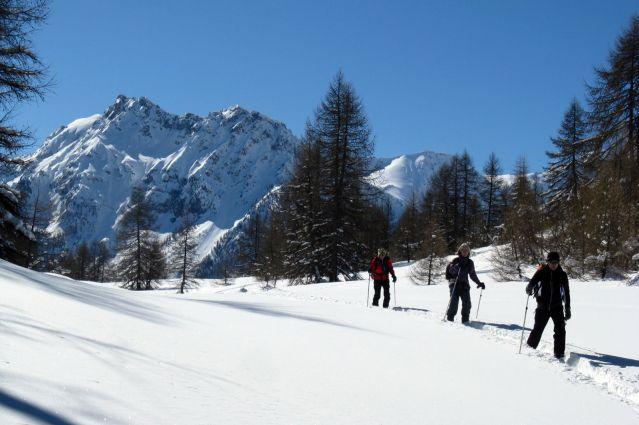 Traversée du massif des Ecrins en raquettes - Alpes du Sud - France