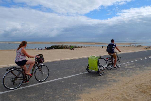 Circuit à vélo entre Royan et l île d Oléron - France
