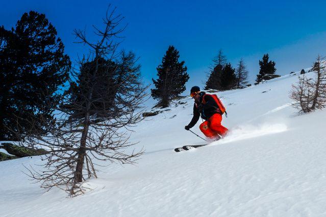 Ski freeride - Grenoble - France