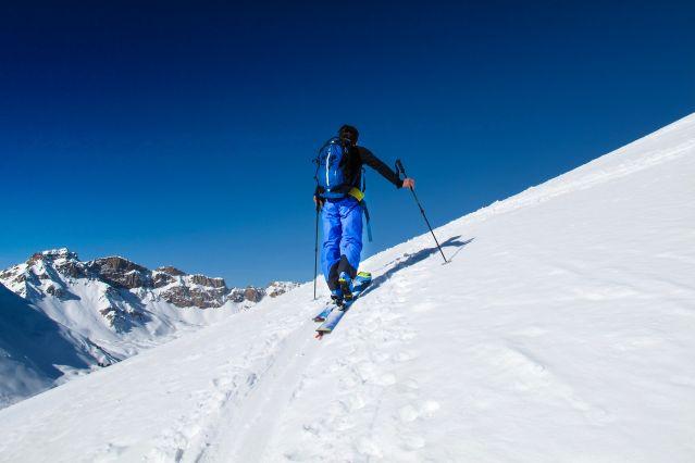Ascension du mont Thabor, Clarée - Alpes - Italie