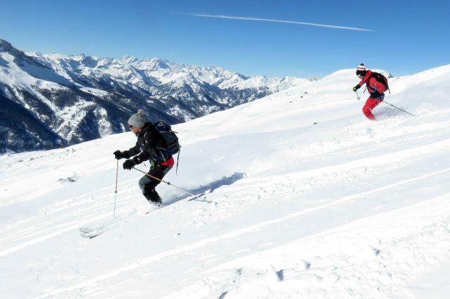 Ski de randonnée dans la Vanoise - Alpes du Sud - France