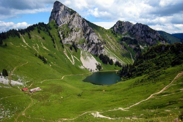 Lac d Arvouin - Vallée d Abondance - France