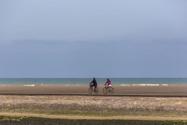 Voyage A vélo le long des plages du Débarquement