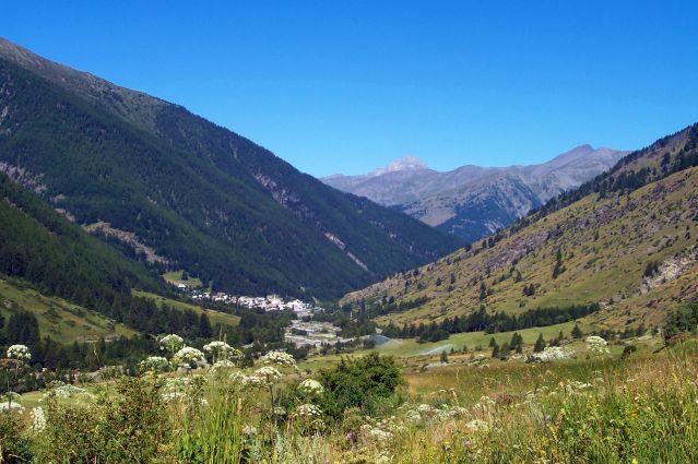 Vallée du haut Guil - Massif du Queyras - France
