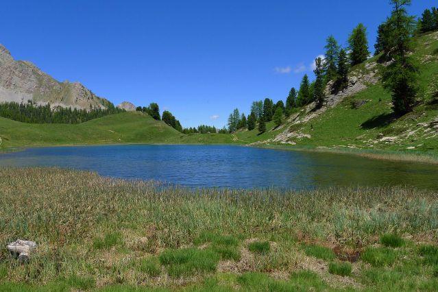 Lac miroir - Massif du Queyras - France