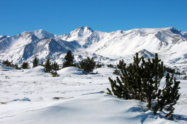 Massif du Carlit depuis le Mont Llaret - France