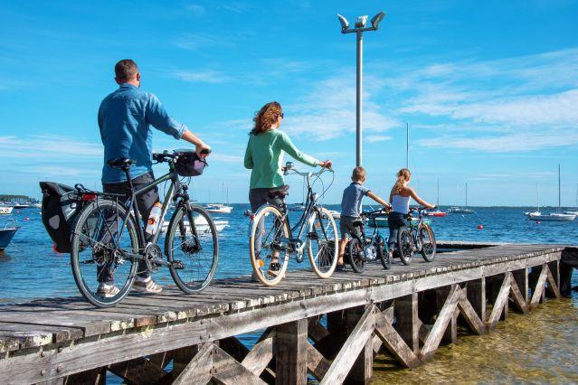 Voyage Arcachon à vélo entre océan, dunes et pinèdes