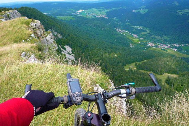 Voyage La traversée du Jura en VTT