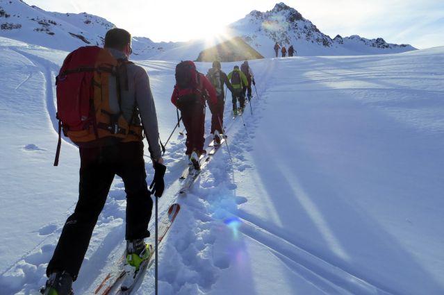 Ski de rando dans le Beaufortain - France