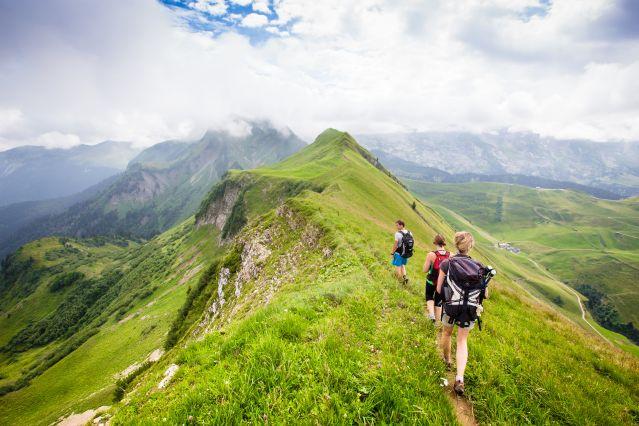 Randonnée dans les Aravis - Alpes - France