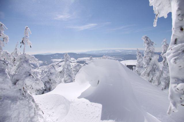 Découverte neige à Bagnols-les-Bains