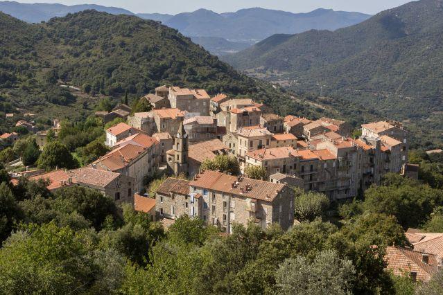 Village de Sainte-Lucie-de-Tallano - Corse