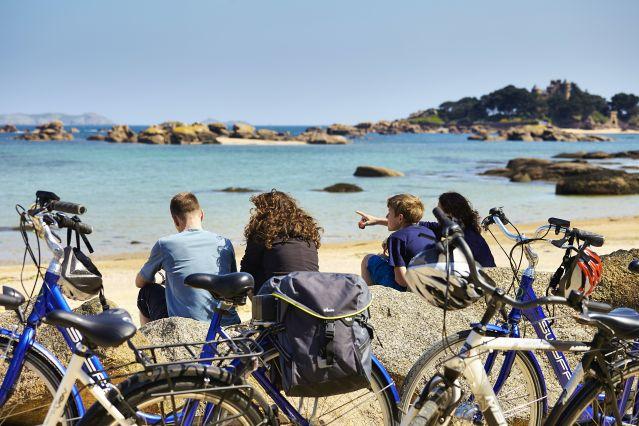 Voyage L'île de Bréhat et la côte de Granit Rose à vélo