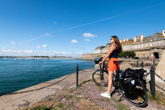Voyage De Rennes à Saint-Malo à vélo