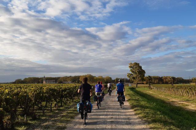 Voyage Escapade en Gironde, océan et vignobles à vélo
