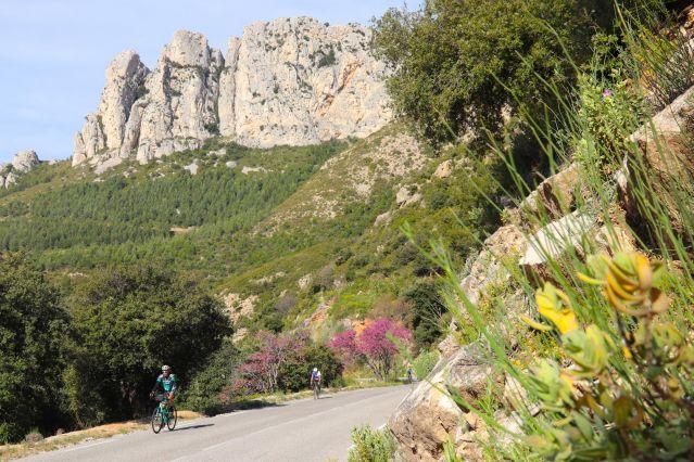 Voyage Alpes du soleil et Ventoux en vélo de route