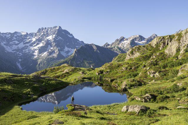 La Chapelle-en-Valgaudemar - Parc National des Ecrins - France