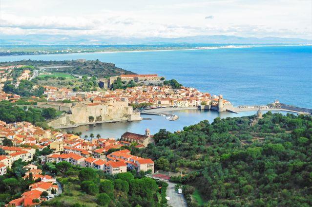 Vue sur Collioure - Pyrénées-Orientales - France