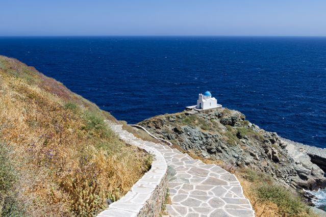 Voyage Iles de Sifnos et de Folégandros