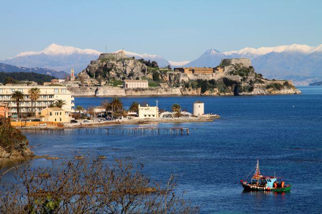 Vieille forteresse - Île de Corfou - Grèce