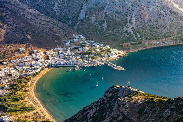 Port de Kamares-Sifnos-Grèce