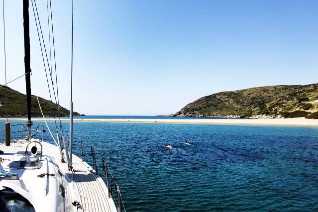 Navigation dans les Cyclades - Grèce