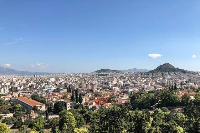 Voyage Athènes et les îles Saroniques à vélo