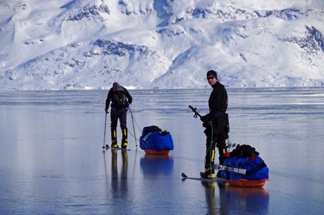 Randonnée à ski dans le Fjord Ammassalik - Groenland