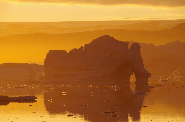 Voyage Sermilik, la route des icebergs