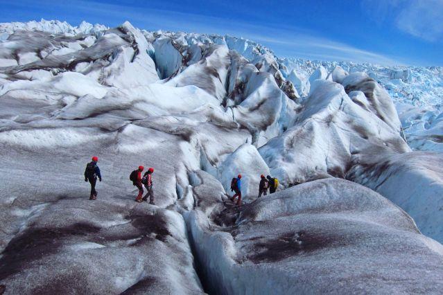 Randonnée sur le glacier Qaleraliq - Groenland
