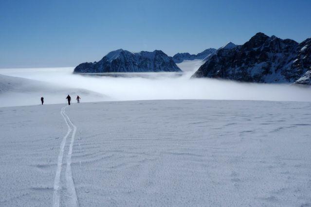 Sur les glaciers - Terre de Liverpool - Groenland